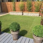 Abbey Homes - Gabion benches