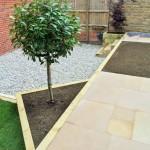 3 tiered garden design / construction 4.