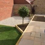 3 tiered garden design / construction 1.