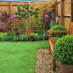Abbey Homes - Stanton Show garden.