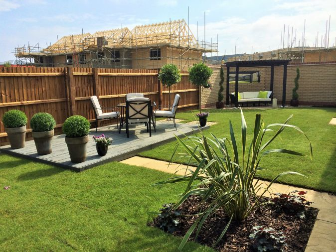 Abbey New Homes Cambridge Show Garden Mdc Landscapes Ltd